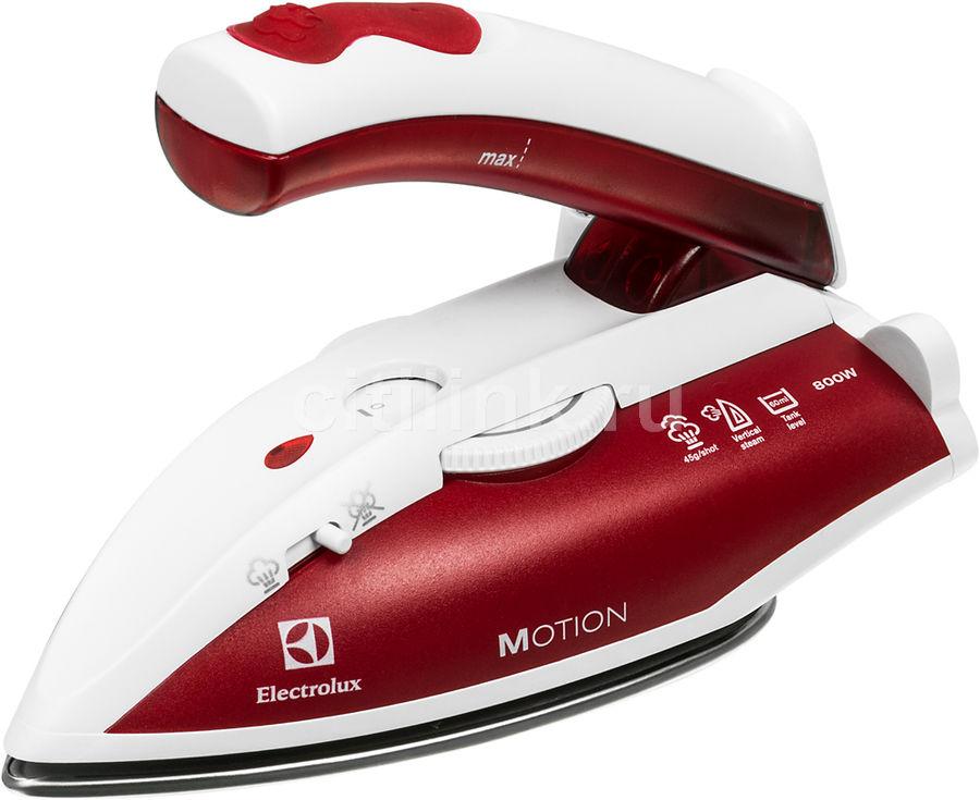 Утюг ELECTROLUX EDBT800,  800Вт,  красный/ белый
