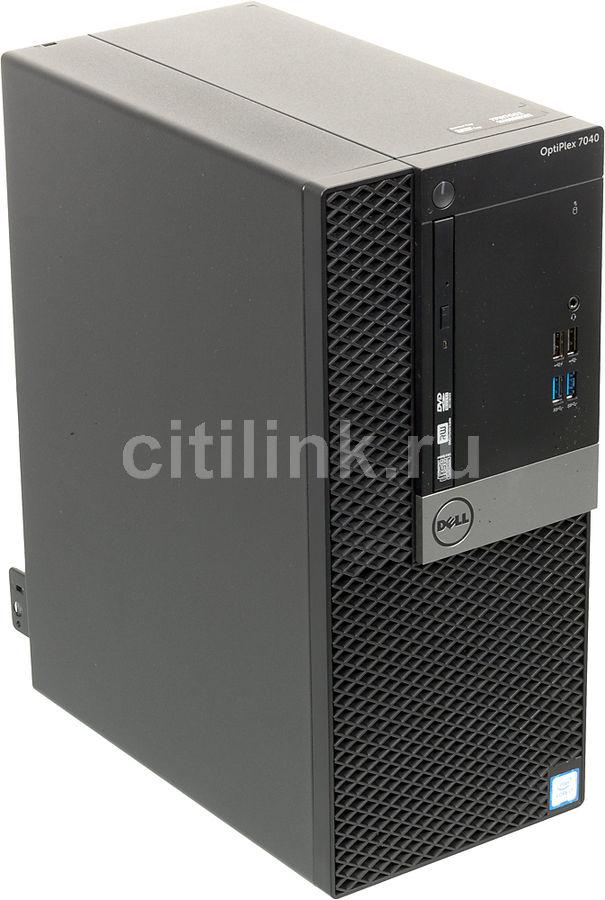 Компьютер  DELL Optiplex 3040,  Intel  Core i3  6100,  DDR3L 4Гб, 500Гб,  Intel HD Graphics 530,  DVD-RW,  Windows 7 Professional,  черный и серебристый [3040-2389]