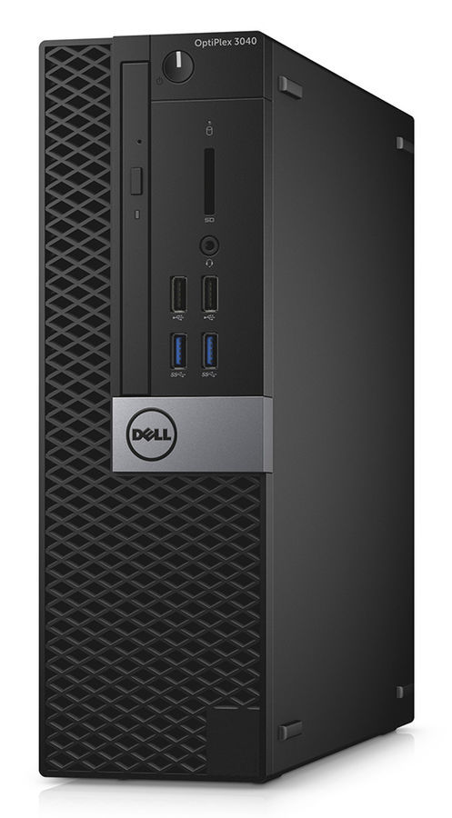 Компьютер  DELL Optiplex 3040,  Intel  Core i3  6100,  DDR3L 4Гб, 128Гб(SSD),  Intel HD Graphics 530,  Linux,  черный и серебристый [3040-9930]