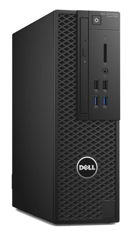 Компьютер  DELL Precision 3420,  Intel  Xeon  E3-1220 v5,  DDR4 8Гб, 1000Гб,  nVIDIA Quadro K420 - 2048 Мб,  DVD-RW,  Windows 7 Professional,  черный [3420-9495]