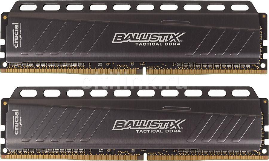 Модуль памяти CRUCIAL Ballistix Tactical BLT2C4G4D26AFTA DDR4 -  2x 4Гб 2666, DIMM,  Ret