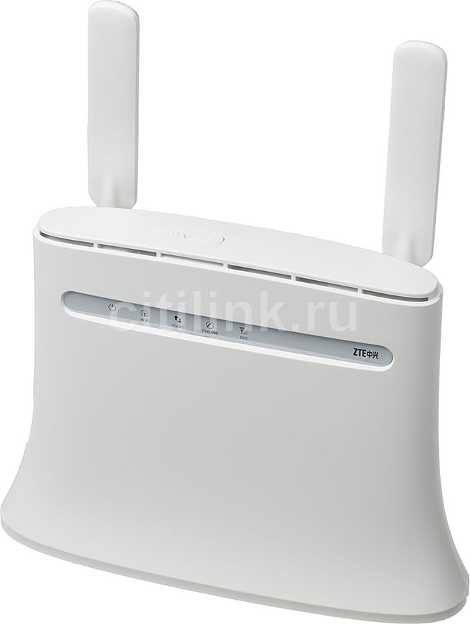 Беспроводной маршрутизатор ZTE MF283,  белый