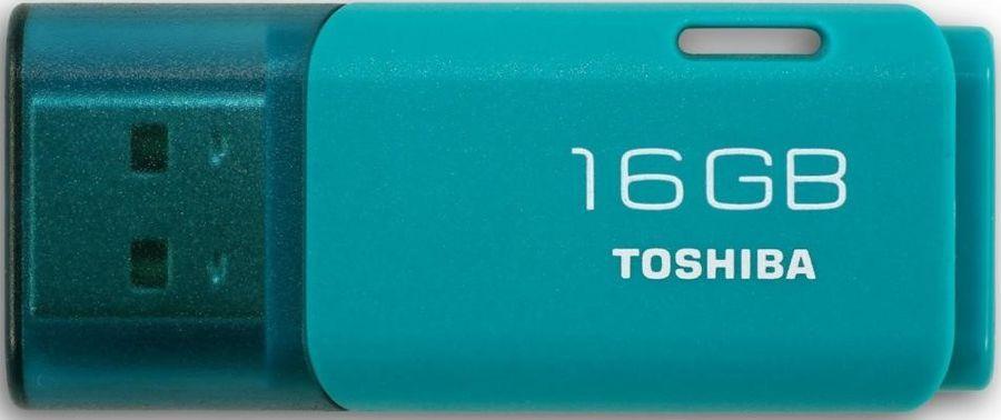 Флешка USB TOSHIBA Hayabusa U202 16Гб, USB2.0, голубой [thn-u202l0160e4]