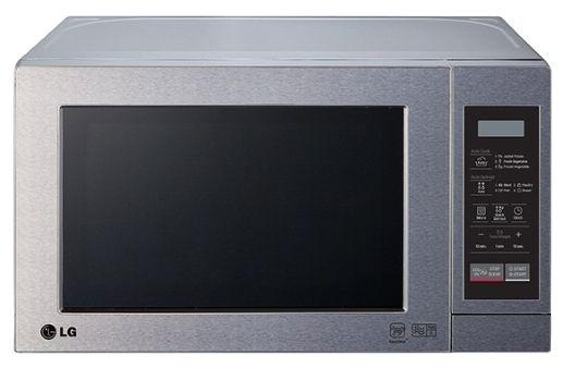 Микроволновая печь LG MS2044VAT, серебристый