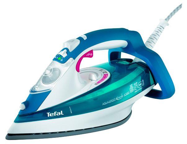 Утюг TEFAL FV5382E0,  2400Вт,  голубой [1830005779]