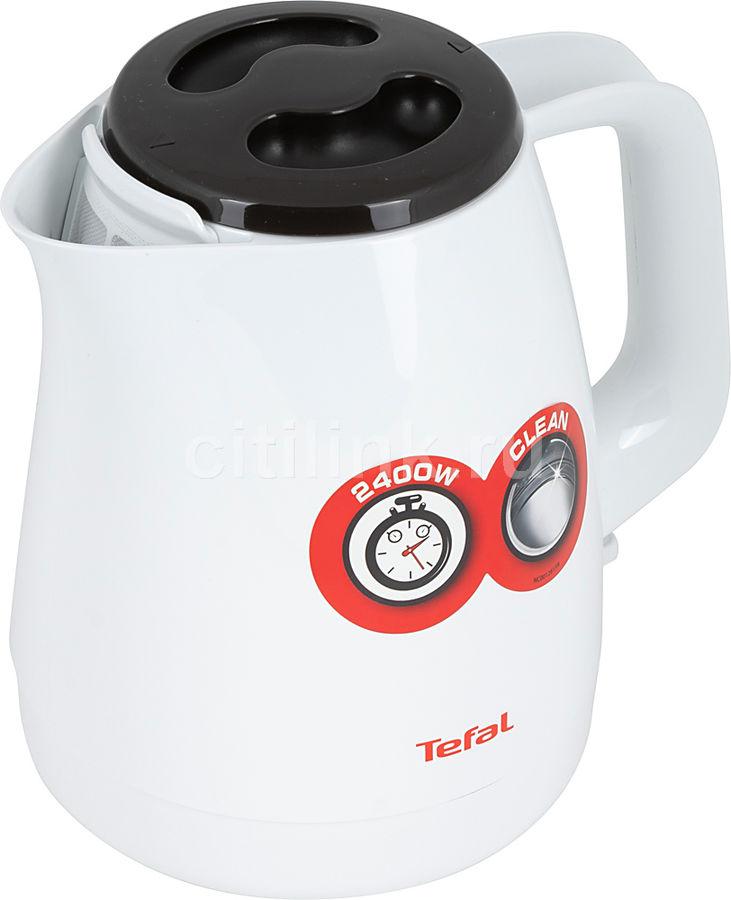 Чайник электрический TEFAL KO150130, белый