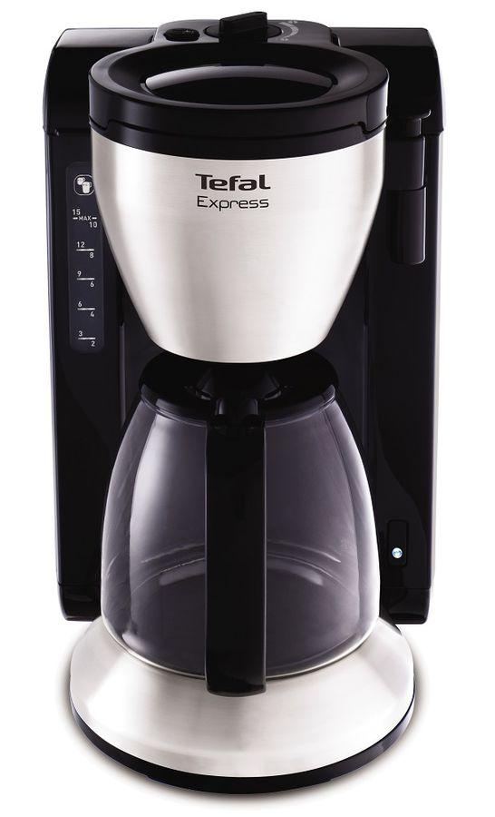 Кофеварка TEFAL CM390811,  капельная,  черный [7211001707]