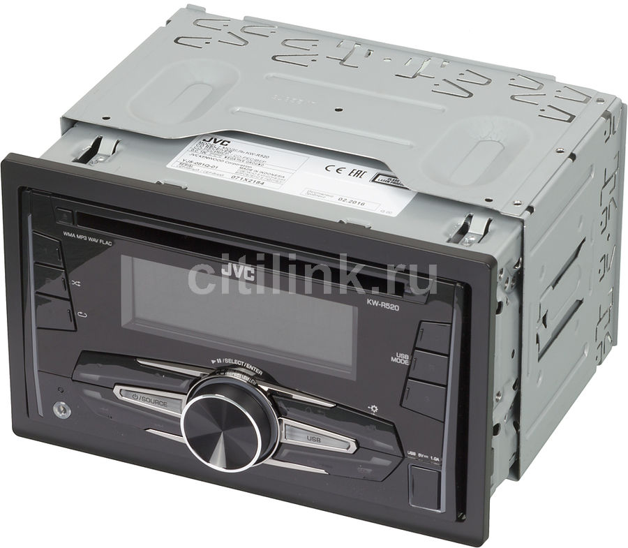Автомагнитола JVC KW-R520,  USB