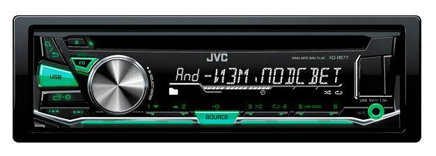 Автомагнитола JVC KD-R577,  USB