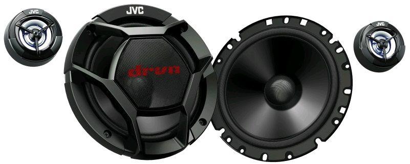 Колонки автомобильные JVC CS-DR1700C,  компонентные,  360Вт