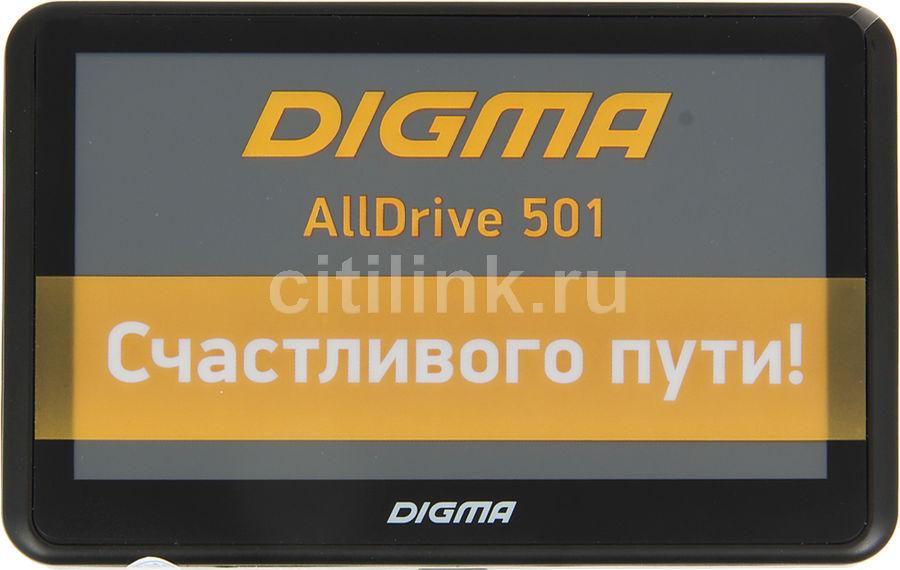 GPS навигатор DIGMA ALLDRIVE 501,  5