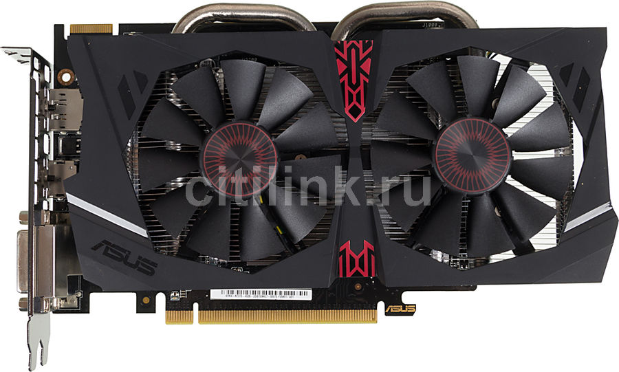Видеокарта ASUS Radeon R7 370,  STRIX-R7370-DC2-4GD5-GAMING,  4Гб, GDDR5, OC,  Ret