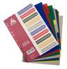 Разделитель индексный Бюрократ ID115 A4 пластик 10 индексов цветные разделы вид 2