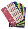 Разделитель индексный Бюрократ ID120 A4 пластик А-Я цветные разделы вид 2