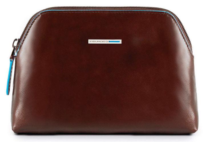 Косметичка Piquadro Blue Square BY3794B2/MO коричневый натур.кожа