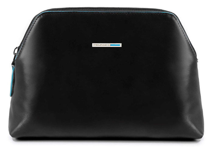 Косметичка Piquadro Blue Square BY3795B2/N черный натур.кожа