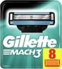 Сменные кассеты для бритья GILLETTE Mach3, 8 шт.