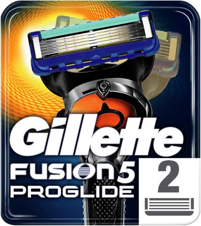 Сменные кассеты для бритья GILLETTE Fusion Proglide,  2 шт.