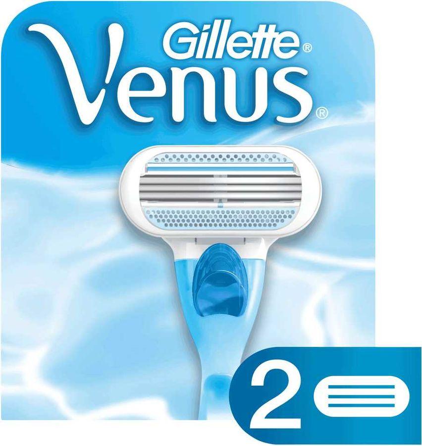 Сменные кассеты для бритья GILLETTE Venus,  2 шт. [80243973]