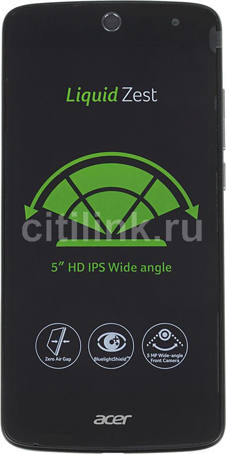Смартфон ACER Liquid Zest Z525  8Gb, черный