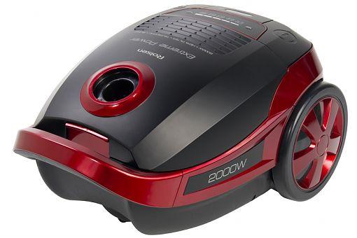 Пылесос ROLSEN T4020TSF, 2000Вт, красный/черный