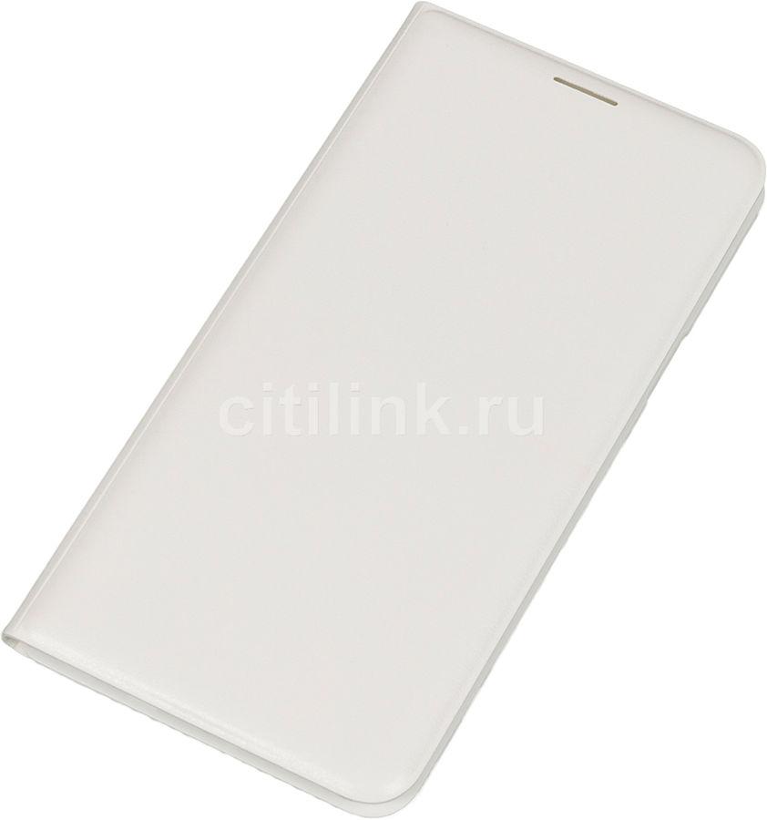 Чехол (флип-кейс) SAMSUNG Flip Wallet, для Samsung Galaxy J7 (2016), белый [ef-wj710pwegru]