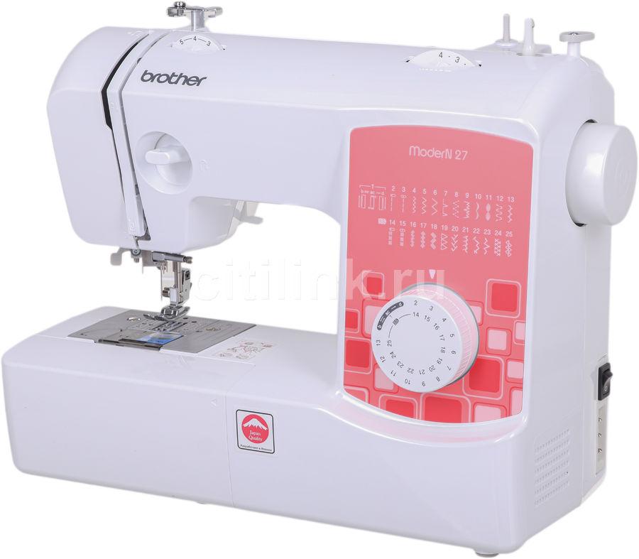 Швейная машина BROTHER ModerN 27 белый [modern27]