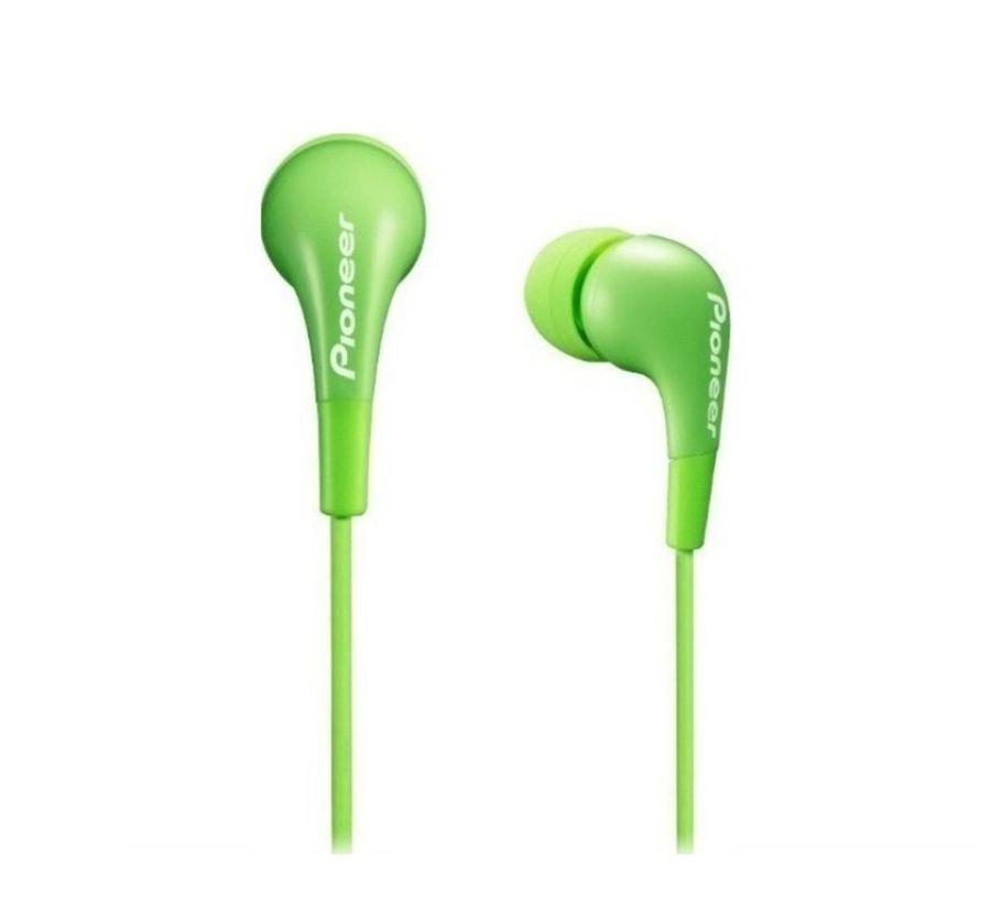 Наушники PIONEER SE-CL502-G, вкладыши,  зеленый, проводные