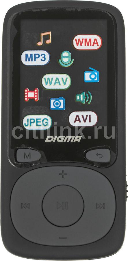 MP3 плеер DIGMA B3 flash 8Гб черный [b3bk]