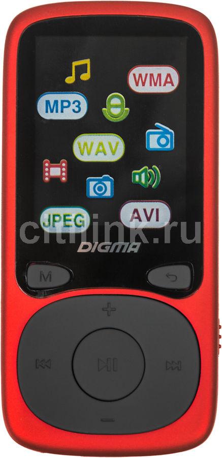 MP3 плеер DIGMA B3 flash 8Гб красный [b3rd]