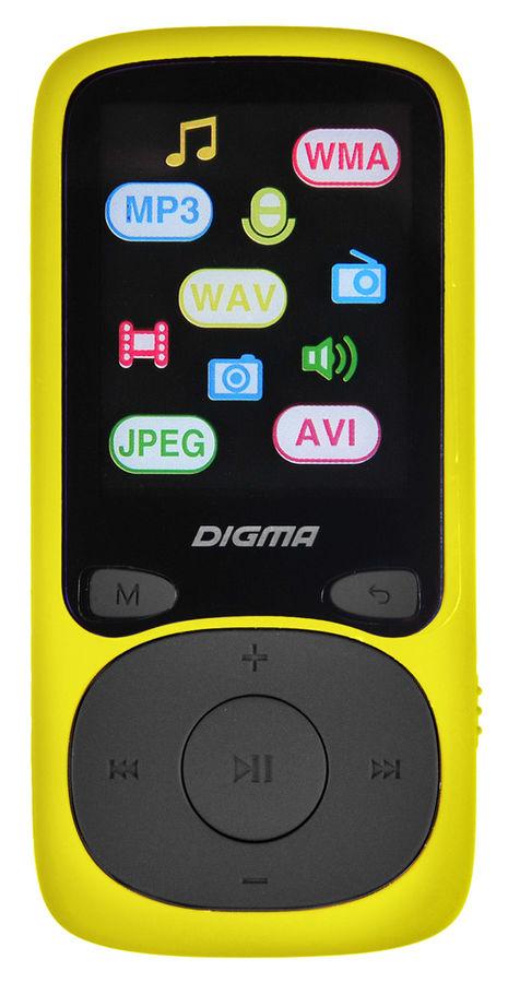 MP3 плеер DIGMA B3 flash 8Гб желтый [b3yl]