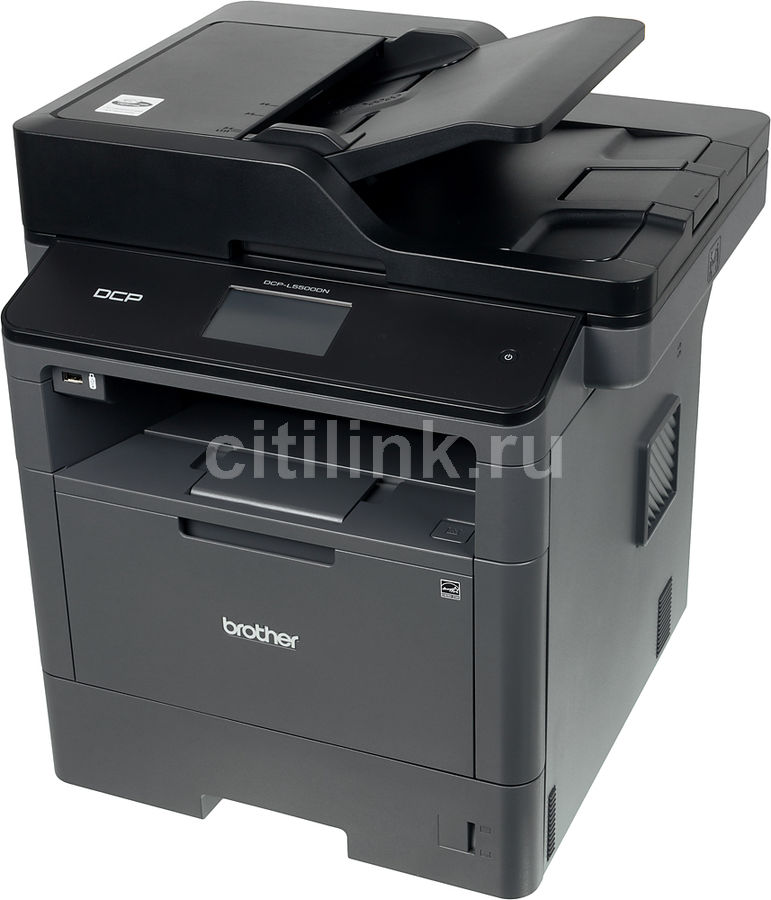 МФУ BROTHER DCP-L5500DN,  A4,  лазерный,  черный [dcpl5500dnr1]