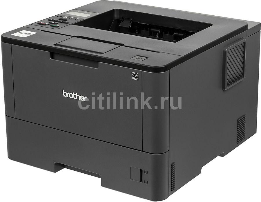 Принтер лазерный BROTHER HL-L5100DN лазерный, цвет:  черный [hll5100dnr1]