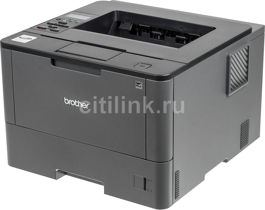 Принтер BROTHER HL-L5200DW лазерный, цвет:  черный [hll5200dwr1]