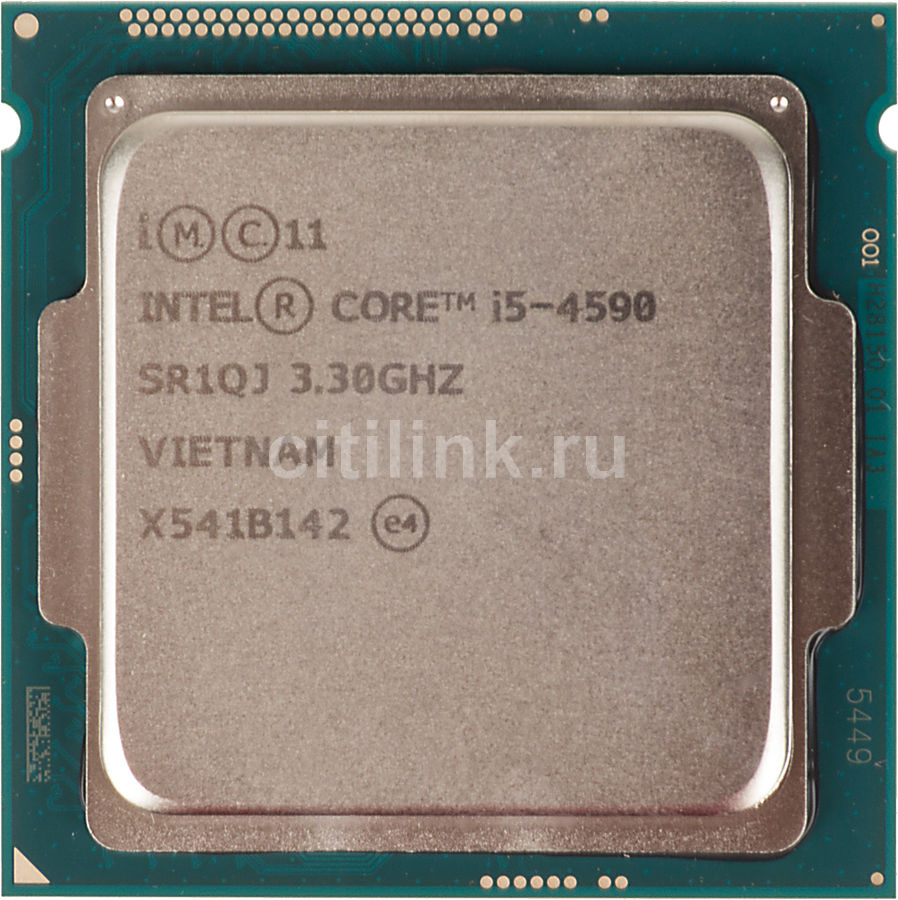 Процессор INTEL Core i5 4590, LGA 1150 ** OEM [cm8064601560615s r1qj]