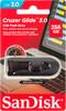 Флешка USB SANDISK Cruzer Glide 256Гб, USB3.0, черный и красный [sdcz600-256g-g35] вид 3