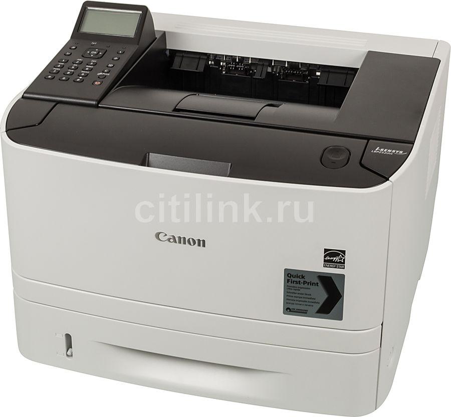 Принтер лазерный CANON i-SENSYS LBP252dw лазерный, цвет:  серый [0281c007]
