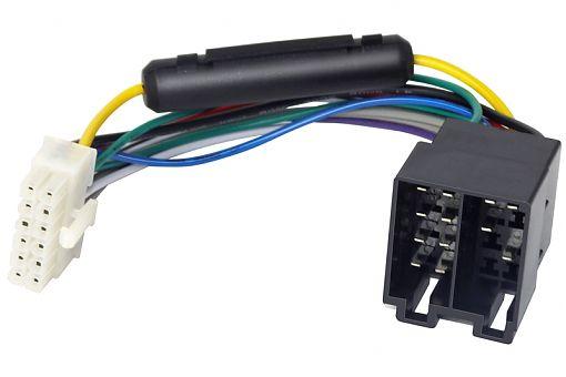 Адаптер ISO Rolsen RCR-12P-ISO черный/белый (1-RLCA-RCR-12P-ISO)