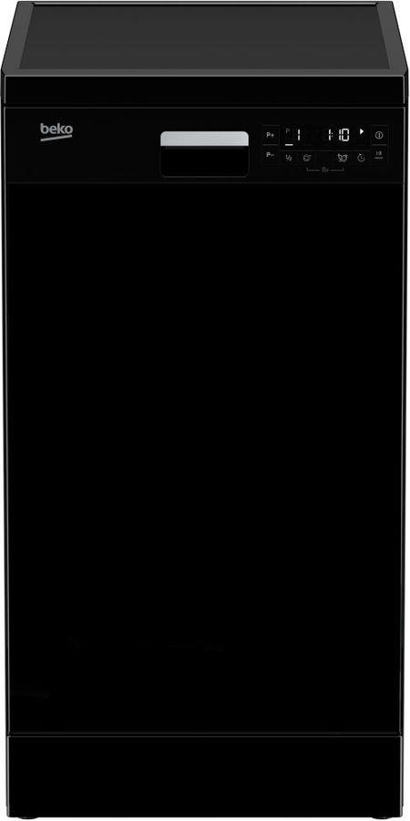 Посудомоечная машина BEKO DFS26010B,  узкая, черный