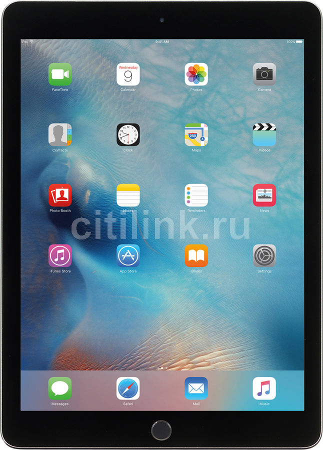 Планшет APPLE iPad Pro 9.7 32Gb Wi-Fi + Cellular MLPW2RU/A, 32GB, 3G, 4G, iOS темно-серый apple ipad 3 32gb wifi