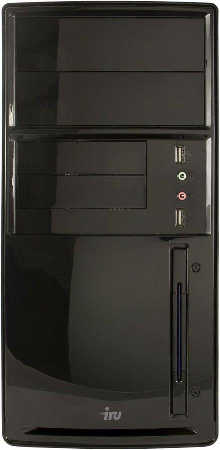 Компьютер  IRU City 310,  Intel  Celeron  G1850,  DDR3 2Гб, 500Гб,  Intel HD Graphics,  Windows 10 Home,  черный [364526]
