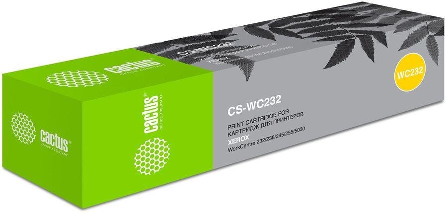 Картридж CACTUS CS-WC232 черный