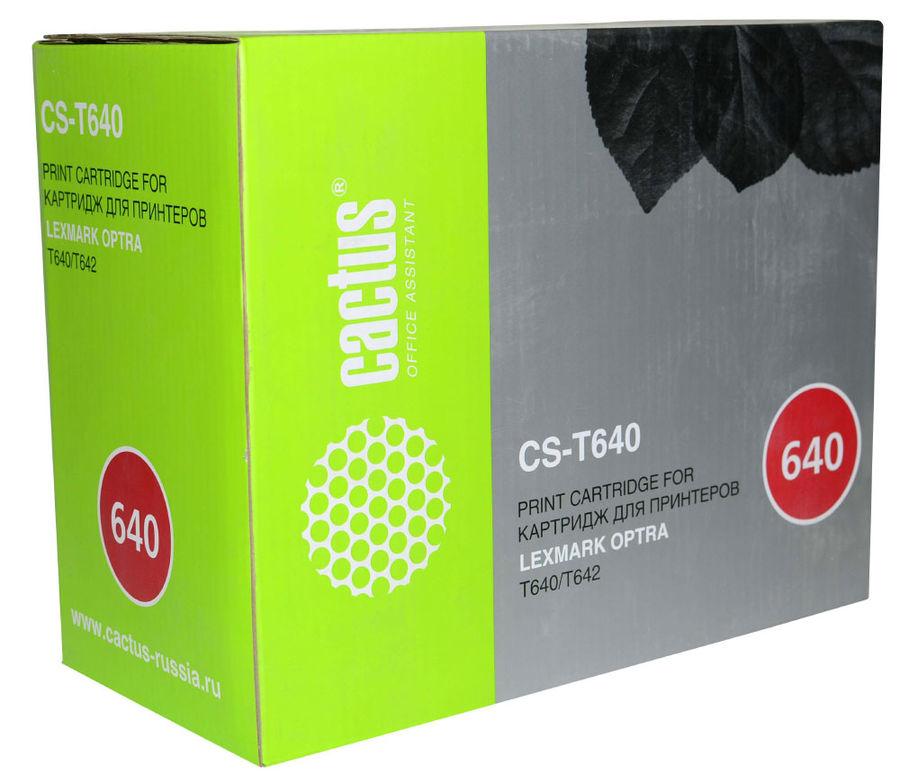 Картридж CACTUS CS-T640 черный