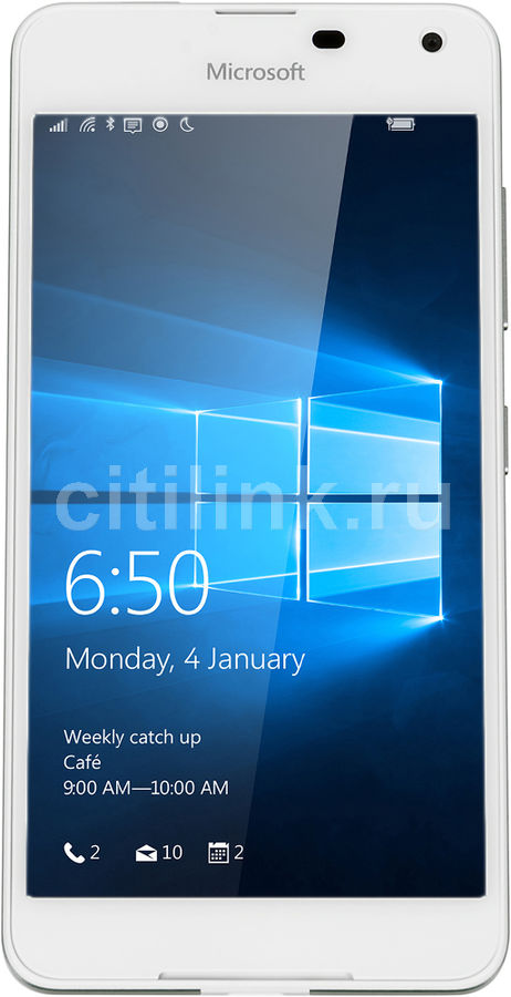 Смартфон MICROSOFT Lumia 650 Dual Sim белый