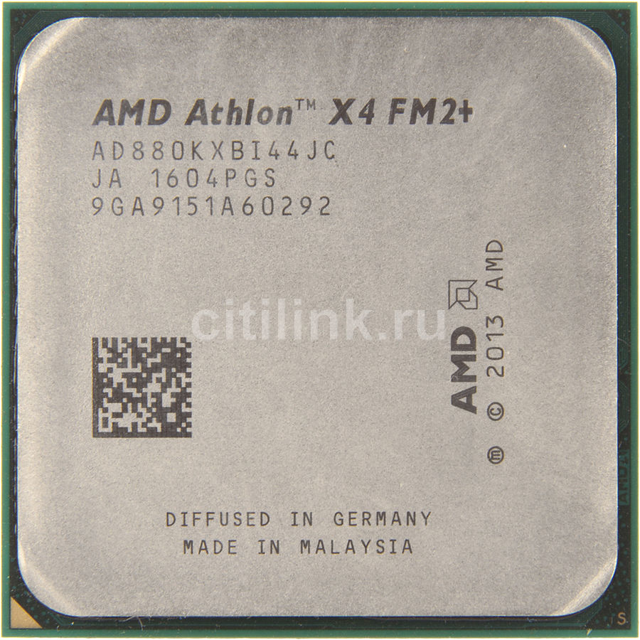 Процессор AMD Athlon X4 880K, SocketFM2+ OEM [ad880kxbi44jc]