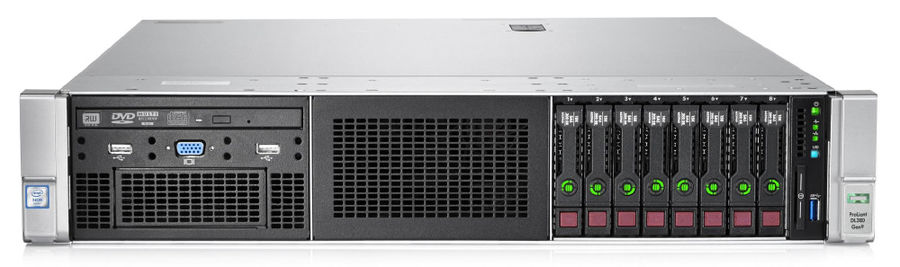 Сервер HPE ProLiant DL380p Gen9 2xE5-2660v4 4x16Gb x26 2.5 RW P440ar 12GB 10G 2P 2x800W (852432-B21Серверы<br>Hot Swap HDD, Hot Swap AC, наличие привода DVD-RW<br><br>Линейка: ProLiant