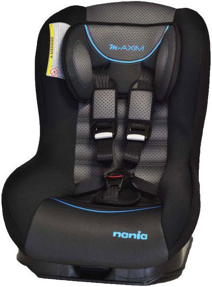 Автокресло детское NANIA Maxim FST (graphic black), 0+/1, черный/серый [073076]