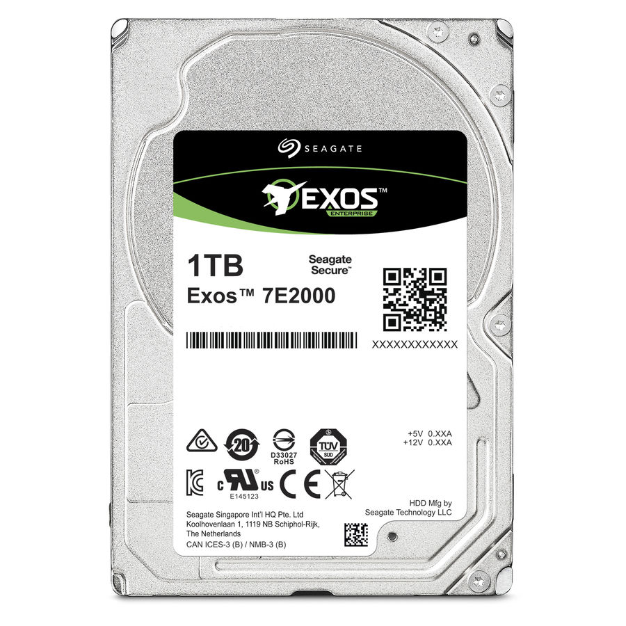 Жесткий диск SEAGATE Enterprise Capacity ST1000NX0313, 1Тб, HDD, SATA III, 2.5 жесткий диск 5tb seagate enterprise capacity 3 5 hdd st5000nm0024
