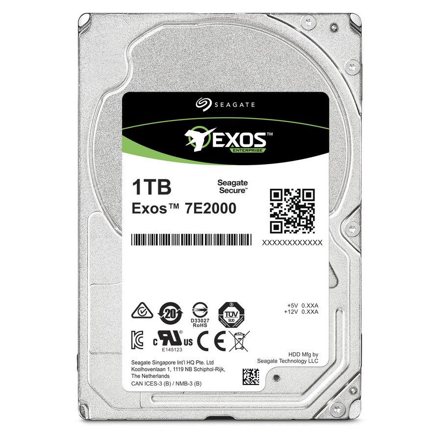 Жесткий диск SEAGATE Enterprise Capacity ST1000NX0313,  1Тб,  HDD,  SATA III,  2.5