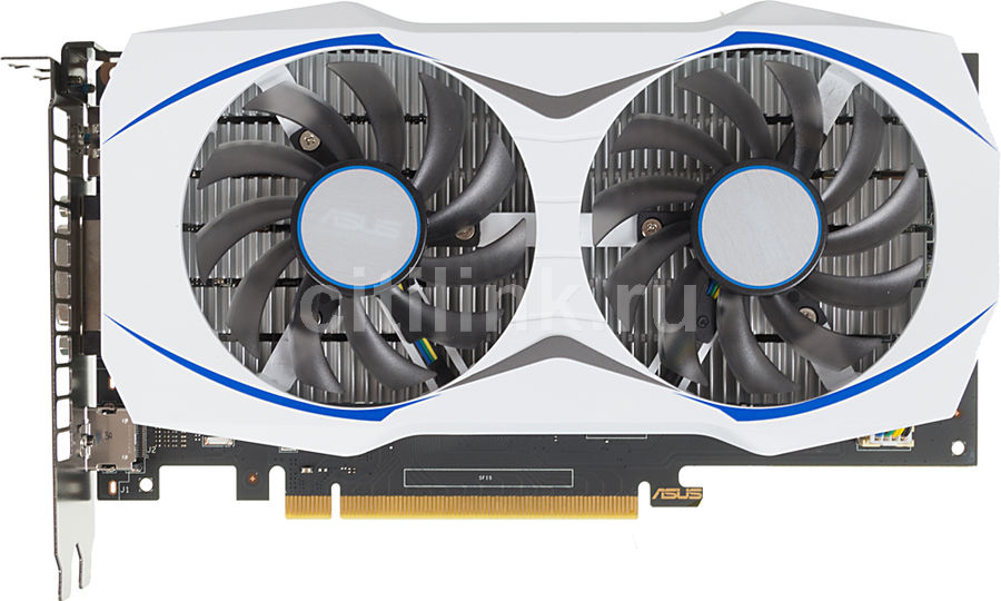 Видеокарта ASUS GeForce GTX 950,  GTX950-2G,  2Гб, GDDR5, Ret